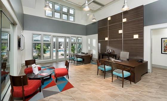 leasing center rendering